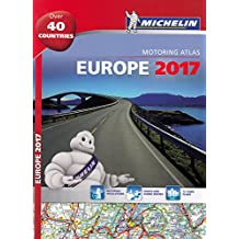 Europe 2017 - A4 'Spiral Bound (Michelin Tourist and Motoring Atlases)