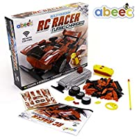 abeec Build Your Own Remote Control Car - Model RC Car Kit - Build 2 Different Body Styles
