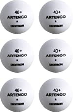 Artengo TTB 100* 40+ Table Tennis Ball 6-Pack