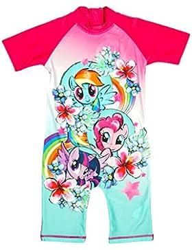 Mädchen Mein Kleines Pony Pinkie Pie Blumenmuster alles in eins Sonnenschutz Badeanzug größen von 1.5 - 5 Years