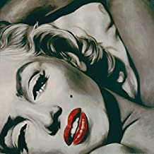 Artland Póster De Impresión De Pared Cuadro de Fine de Print en calidad expos. reproduktionen Frank Ritter aspecto–Marilyn Monroe Personas Portraits Star Pintura Negro/Blanco 70x 70x 0,1cm)