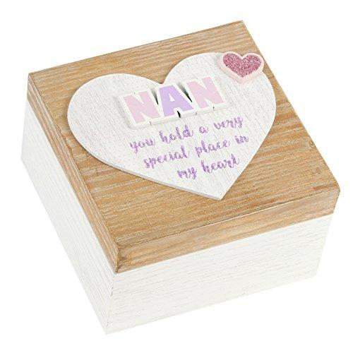 Nan Tenue A Special Place Boîte à souvenirs souvenir en bois style chic NEUF