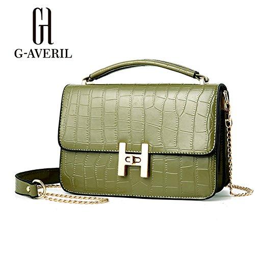 G-AVERIL, Borsa a mano donna Army green Army green