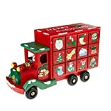 Country Baskets 22 x 36 cm Spielzeug Town Advent Truck, Mehrfarbig