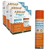 ARDAP Set 1 x 400 ml Flohspray + 6 x 100 ml Fogger gegen Flöhe und Ungeziefer