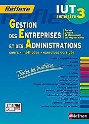 Toutes les matières IUT Gestion des Entreprises et des Administrations - Semestre 3