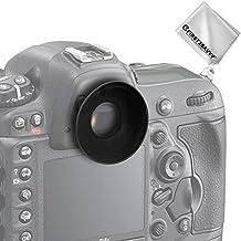 First2savvv DSLR reemplazo tapa del ocular y el ocular para Nikon D750 D610 D600 D500 D300S D7200 D7100 D7000 D90 D5500 D5300 D5200 D5100 D5000 D3400 D3300 D3200 D3100 D3000 D700 D300 D200 D100 D80 D70 D70S D50 D60 DSLR Camera DSLR Camera + Paño de limpieza - QJQ-OX-N-01G11