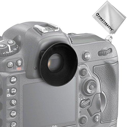 first2savvv Qualité Supérieure DSLR Reflex 22mm OEilleton pour Nikon D610 D600 D300S D7200 D7100 D7000 D90 D300 D200 D80 D70 D70S D60 DSLR Camera DK-21 DK-23 QJQ-OX-N-01