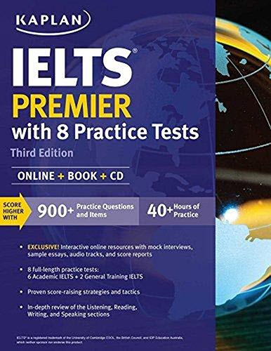 PDF] Download Ielts Premier: Online + Book + CD (Kaplan Test
