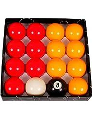 Jeux de billes billard anglais pool 50,8mm