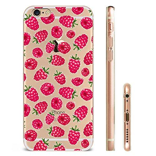 iPhone 7trasparente Cover Morbido Silicone Custodia TPU Limone Frutta modello Bumper Case Leggero Antigraffio stossdaempfende Custodia per l iPhone 7/7PLUS hw49