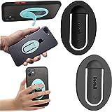 2 Pack Smartphone Halterung, Silikon Handy Ring, KFZ Navigations Autotelefonhalter, Mobile Griffe Medienständer, Einfacher Se