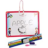 Educational 2-in-1 Slate White And Black Board For Kids Age 2+