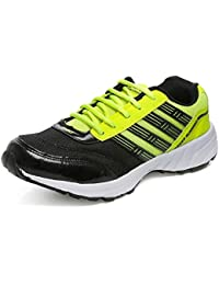 Combit Black And Green Sport Shoes For Men