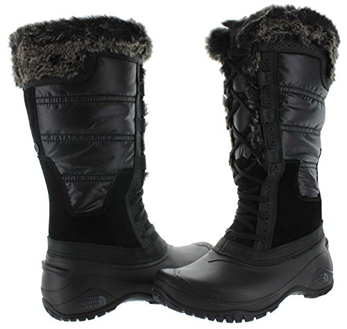 The North Face Shellista II Tall Damen Textile Winterstiefel Black