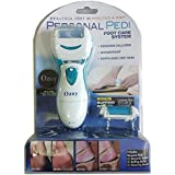 Pedicure Scrubber Perfect Wet & Dry Foot File Dead Skin and Callous Remover for Feet, Hard and Dead Skin- Regular Coarse, Baby smooth feet in minutes. For in home pedicure foot care spa