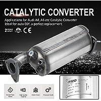 Yogasada De Alto Flujo de vehículos Profesional convertidor catalítico Durable de Acero Inoxidable convertidor catalítico Adecuado