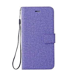 DENDICO Huawei Mate 10 Hülle, Flip Brieftasche Tasche Handyhülle, Leinwand Wallet Etui TPU Schutzhülle für Huawei Mate 10