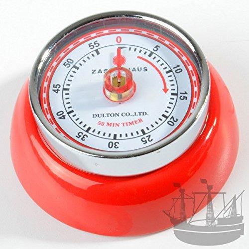 Zassenhaus 72327 Küchentimer - Kitchentimer - Kurzzeitmesser - Eieruhr - Timer 'Speed' mit Magnet -...