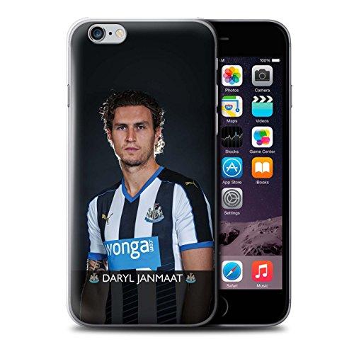 Offiziell Newcastle United FC Hülle / Case für Apple iPhone 6S+/Plus / Pack 25pcs Muster / NUFC Fussballspieler 15/16 Kollektion Janmaat