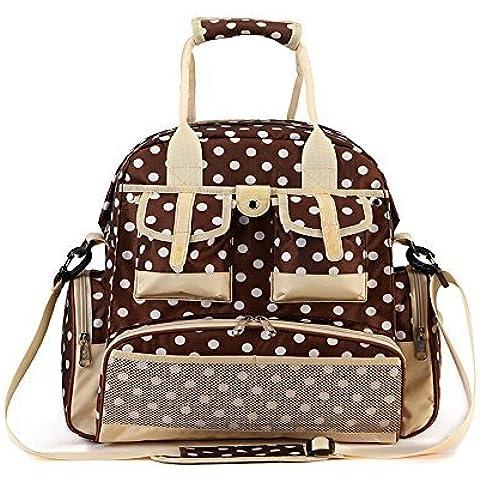 WinkeeLD12-2 bastante nuevo guisante bolsa de pañales mochila, 5 diversos colores, Para su peitit bebé.
