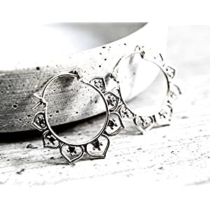 925er Silber Ohrringe KARMA