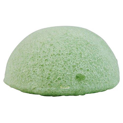 Éponge Konjac Aloé Véra 8 cm 100% fibres végétales