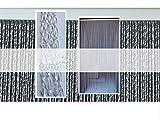 PVC-Türvorhänge Modell Roma – Aluminiumträger - Made in Italy - Eichmaß (95X200/100X220/120X230/130X240/150X250) – Fliegenvorhang (95X200, Transparent (2))