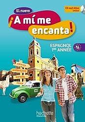 El nuevo A mi me Encanta 4e - Espagnol 1e année - Livre de l'élève - Edition 2012