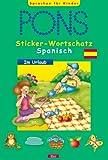 PONS Sticker-Wortschatz Spanisch, Im Urlaub