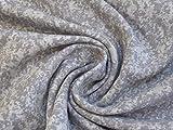 Jersey 'marmoriert' hellgrau 0,5m