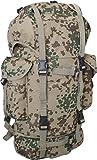 normani BW-Kampfrucksack, 65 Liter mit gepolsterte & verstellbare Rückentragegurte Farbe Tropentarn