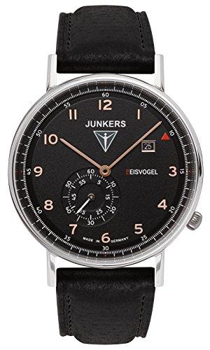 Junkers Herren-Armbanduhr Analog Quarz Leder 67305
