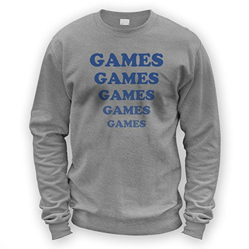 Games Games Games Sweater -x8 Colours- S To XXL Sizes