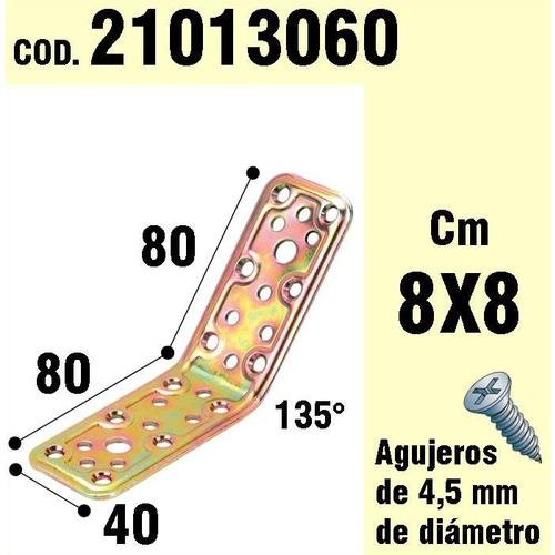 WOLFPACK 21013060 Soporte Madera Ángulo 40x80x80