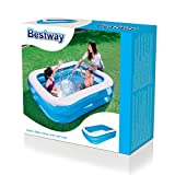 Bestway 54005 Family Pool 'Blue Rectangular', 201x150x51cm