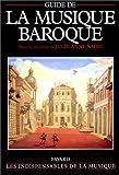 GUIDE DE LA MUSIQUE BAROQUE by JULIE ANN SADIE (January 19,1995)