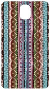 Bright Tribal Rug Pattern Back Cover Case for Samsung Galaxy Note 3 / NIII / N3 / N9000
