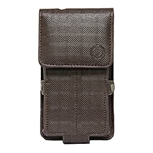 Jo Jo A6 D4 Series Leather Pouch Holster Case For Lemon P14 Brown
