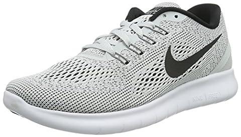 Nike Damen Free RN Sneakers, Weiß (White/Black-Pure Platinum 101), 36 EU