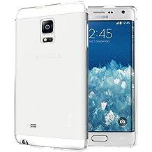 Samsung Galaxy Note Edge Funda, TUDIA ultra delgado LITE TPU caso de parachoques de protección Funda Carcasas para Samsung Galaxy Note Edge (Esmerilado Clara)