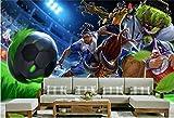 XLi-You 3D Tapete Fresko 3D Raum Wallpaper High-End Custom Wandbild Wandaufkleber 3D Die Wm Anime Malerei Fototapete Für Wände 3D Wandmalerei Hintergrundbild 200cmX150cm