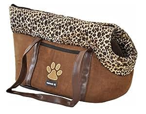 """nanook sac de transport pour chien / chat """"Zulu"""" 56 cm - Design: Léopard"""