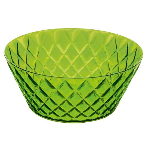 Koziol Crystal Saladier Transparent Vert