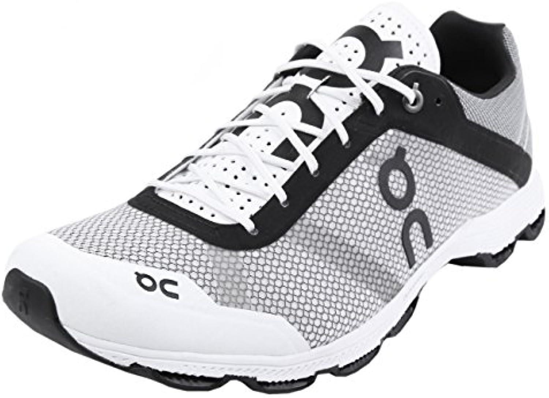 On Running Cloudrush Black White 44
