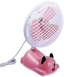 NOVICZ Electric Table Fan 28 W 250 MM Noiseless Personal Fan for Office Bedroom Study Room Etc
