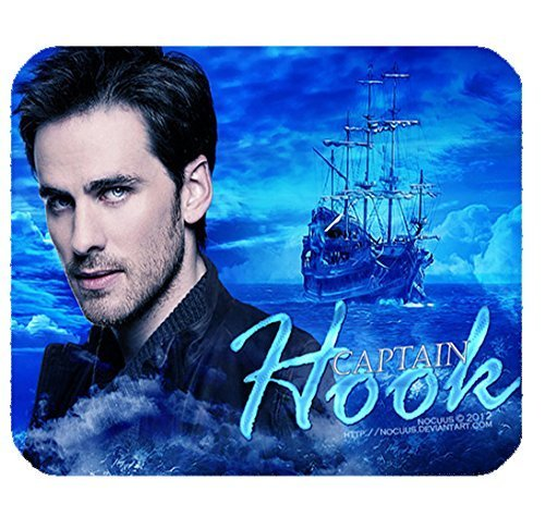 Once Upon a Time Captain Hook Customized Rectangle Mouse Pad Non-slip Rubber Mousepad Gaming Mouse Pad 9.84