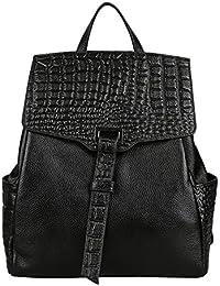 Dissa Q0537 femme sac à main cuir solide Sacs portés dos,29x34x13cm (L x H x T)