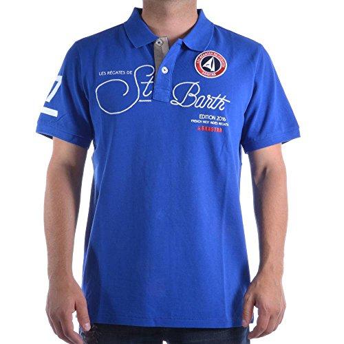 Gaastra -  Polo  - Uomo Blu Royal Large