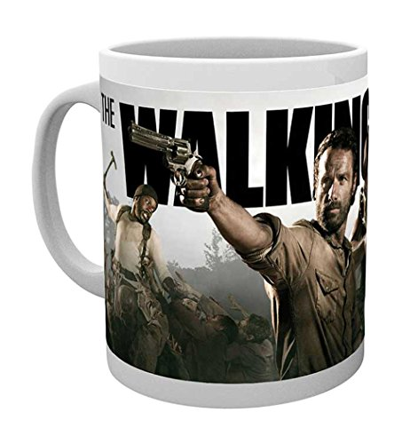 empireposter - Walking Dead, The - Banner - Größe (cm), ca. Ø8,5 H9,5cm - Lizenz Tassen, NEU -...